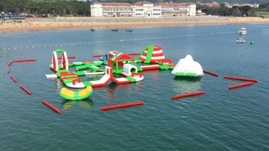 El Parque de Atracciones flotante New Diversion Park