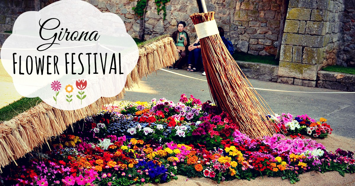 Festival de las Flores de Girona.