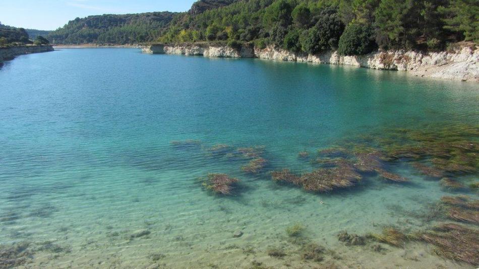 Lagunas de ruidera playas artificiales espana