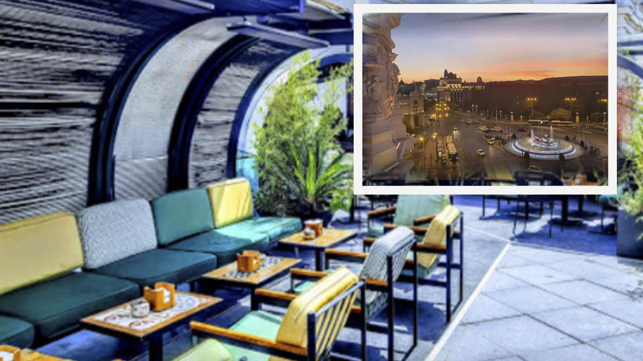 Lounge del Palacio de Cibeles Centrocentro