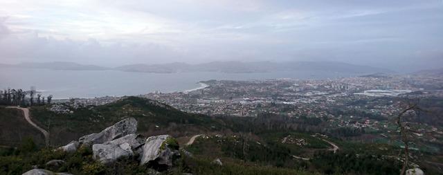 Miradoiro Mauxo Grande rutas senderismo Vigo