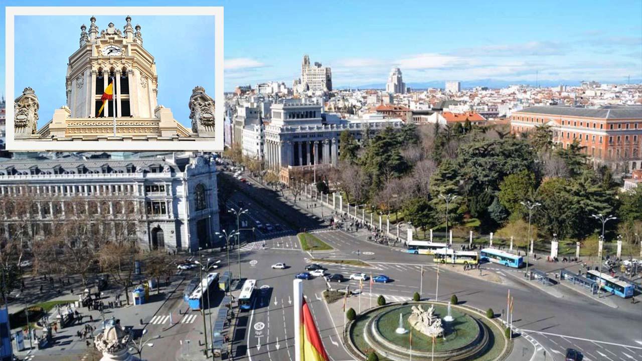 Mirador del Palacio de Cibeles Madrid
