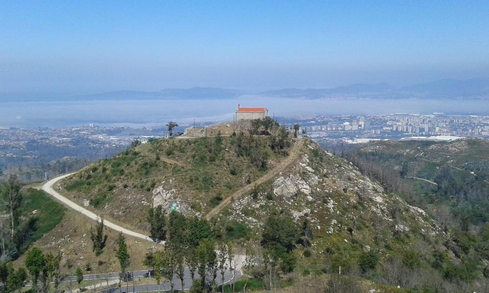 Monte Alba rutas senderismo Vigo