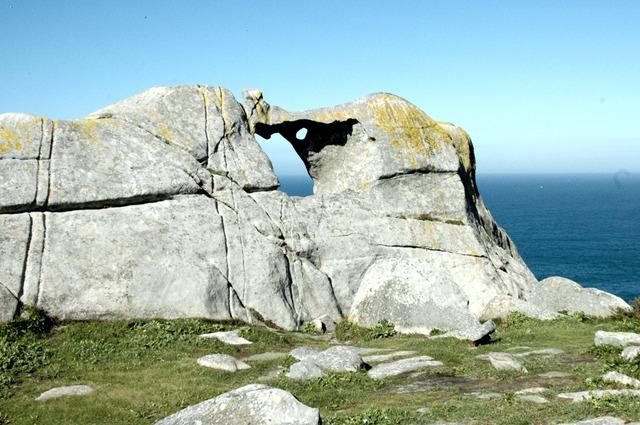 Pedra campa senderismo Islas Cíes