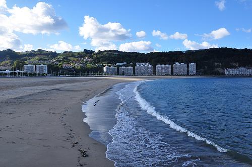 Playa de Hondarribia.
