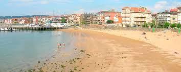 Playa de Las Arenas Getxo Vizcaya.