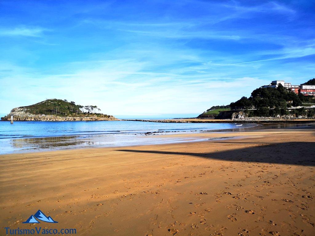 Playas de Lekeitio Isuntza y Karraspio Vizcaya.