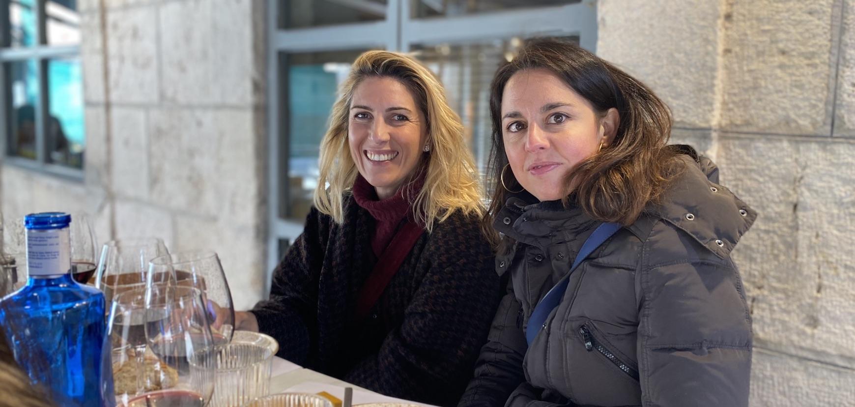 Rebeca y Cristina