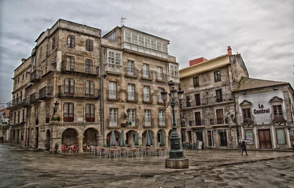 De ruta por el Vigo antiguo. Un pasado tallado en piedra