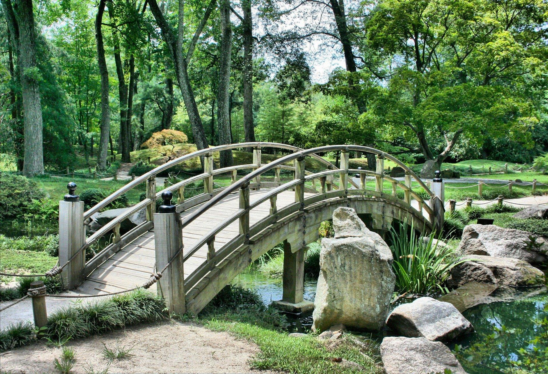 Jardines tropicales en Málaga