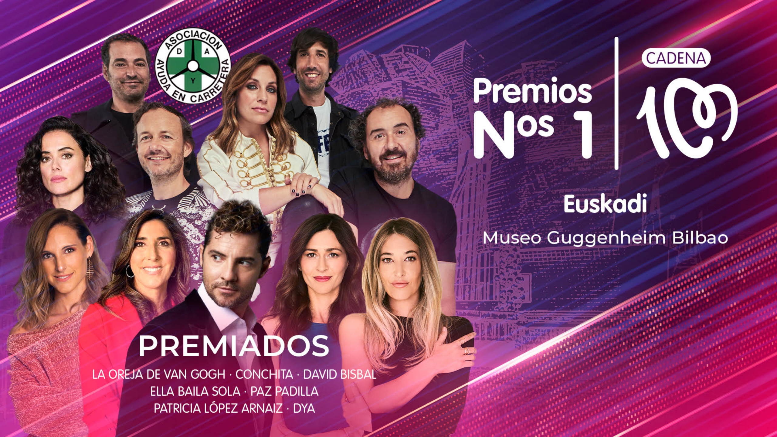 Bilbao volverá a ser la capital de la música con la entrega de los premios Cadena 100