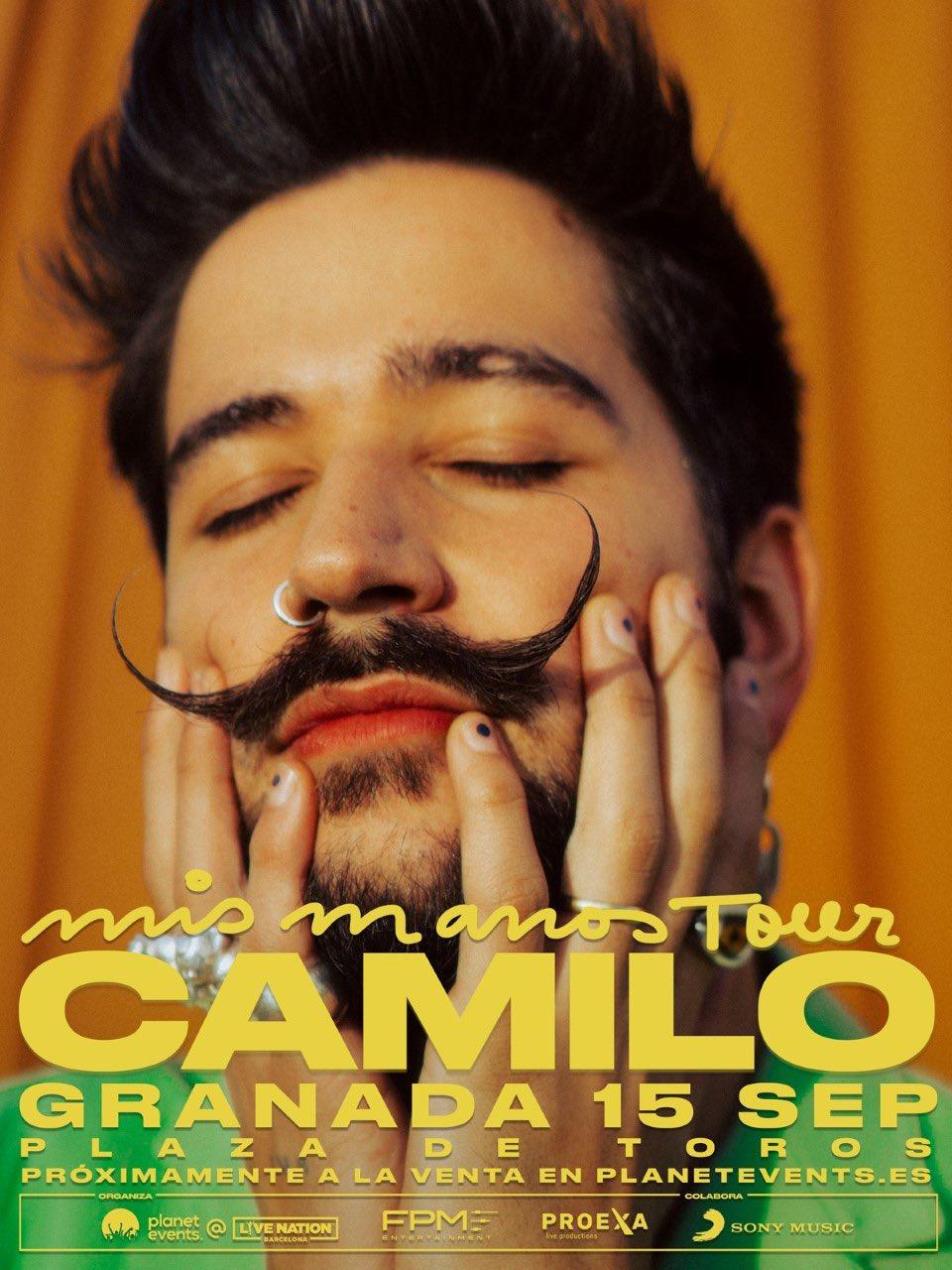 Concierto de Camilo en la Plaza de Toros de Granada, 'Mis Manos tour'