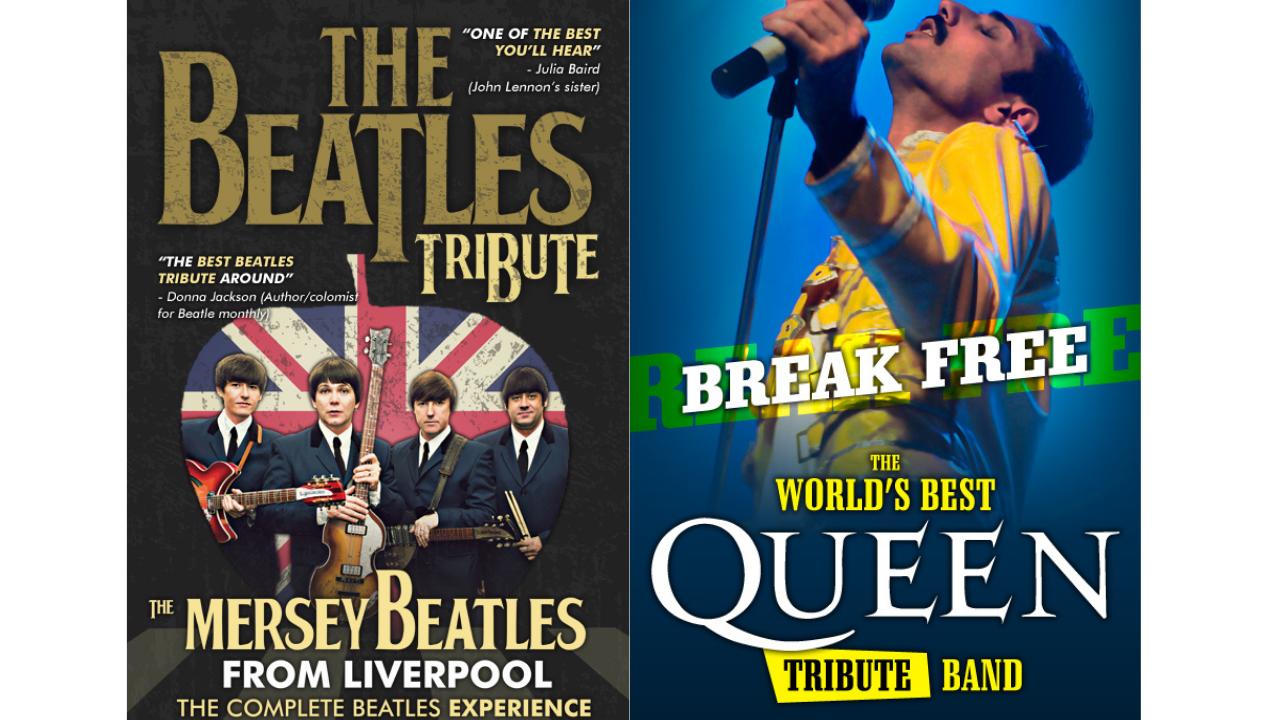 Euskalduna acoge los tributos a 'The Beatles' y 'Queen'