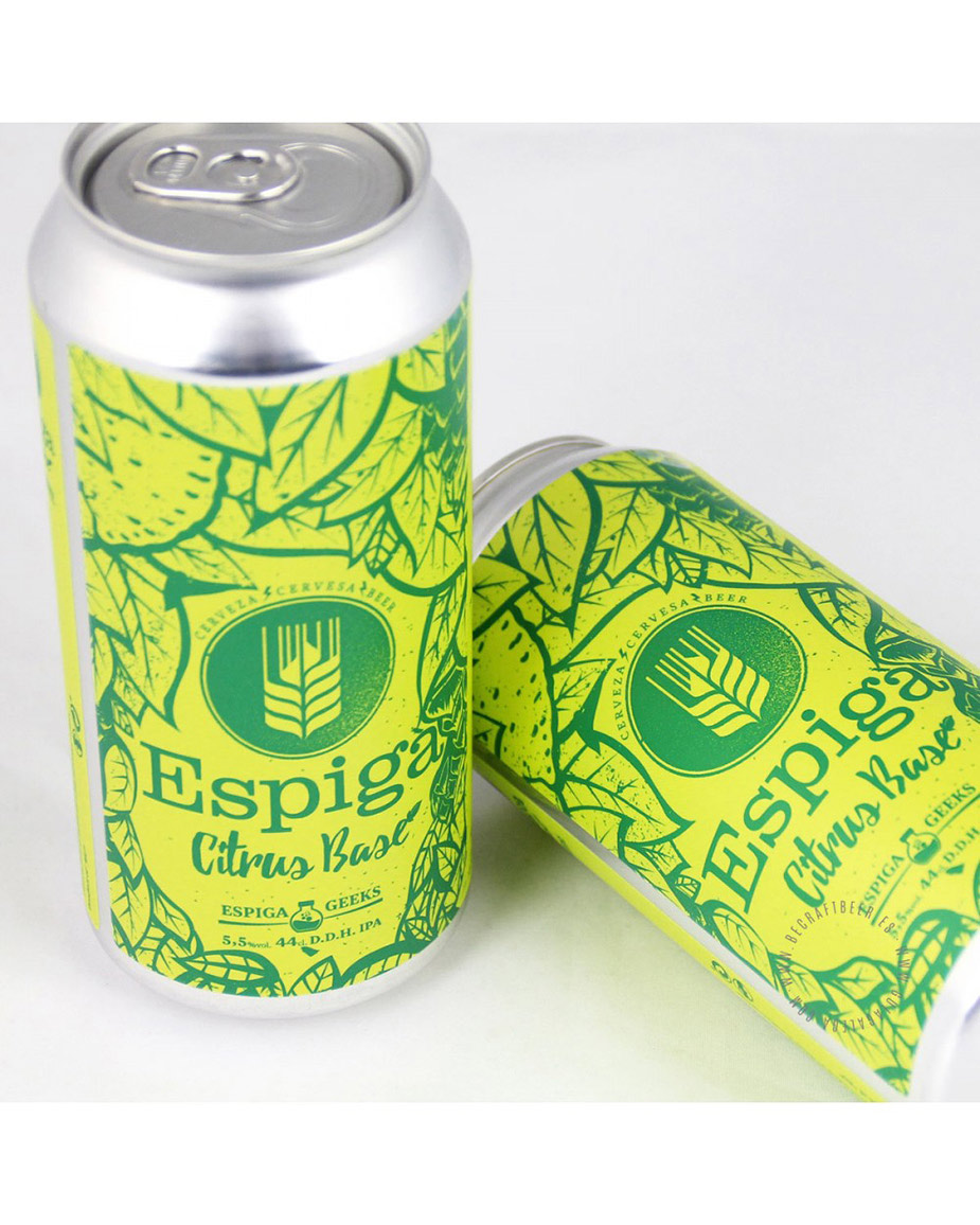 27 cerveza artesana espiga citrus base 44 cl