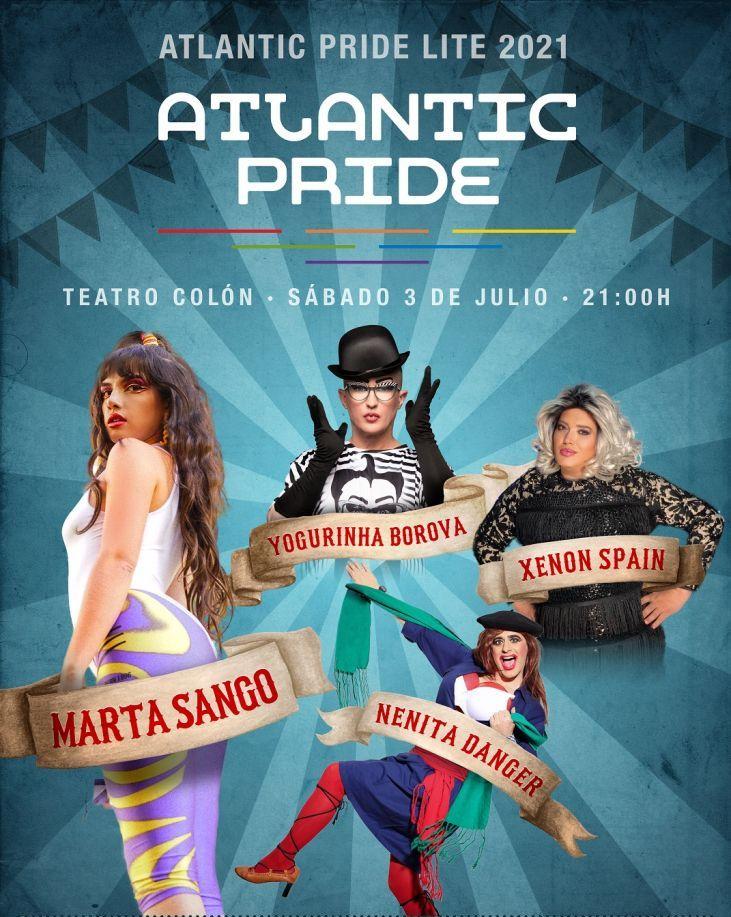 Regresa el festival Atlantic Pride de A Coruña