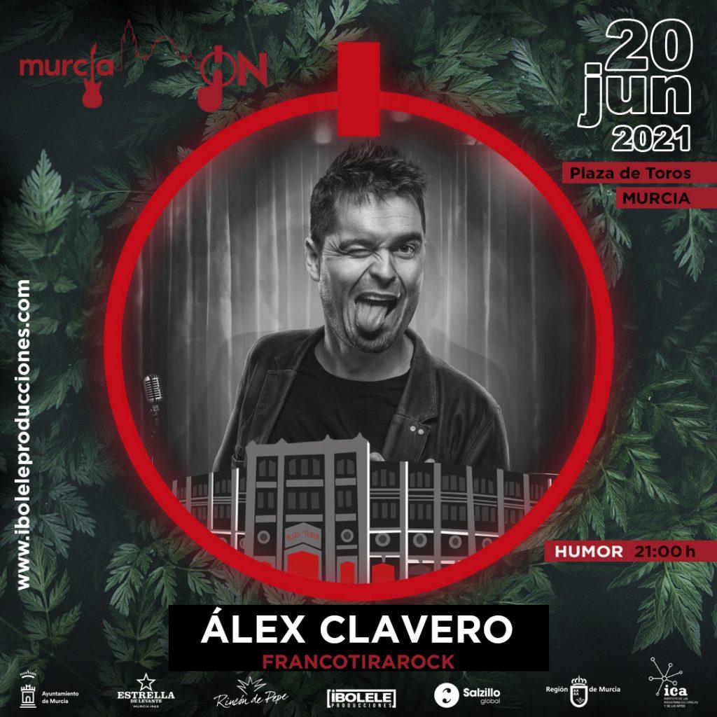 Álex Clavero en la Plaza de Toros de Murcia