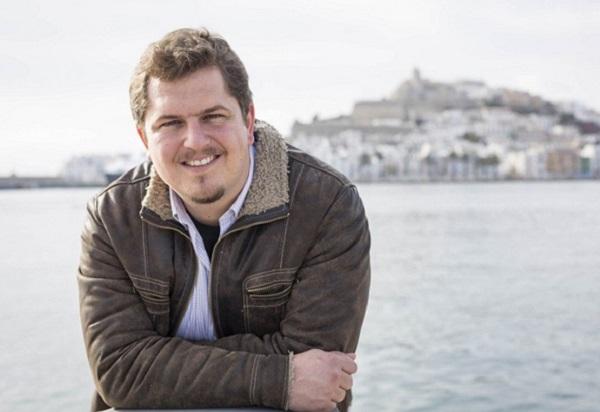 Ben Clark en las Veladas Poeticas de la UIMP