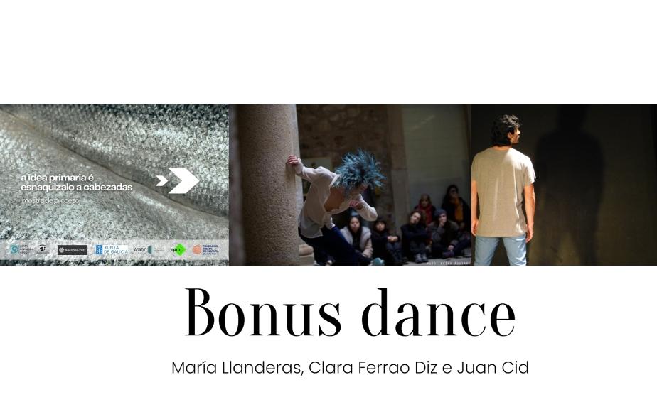 Bonus dance, ciclo de danza en la sala Ártika de Vigo