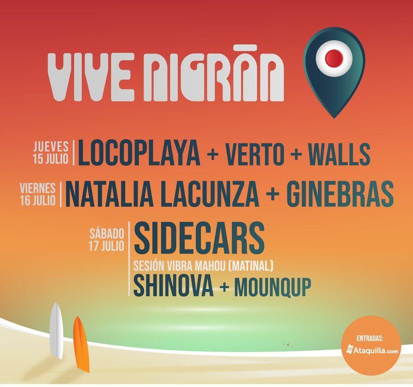 Cartel festival Vive Nigran 2021