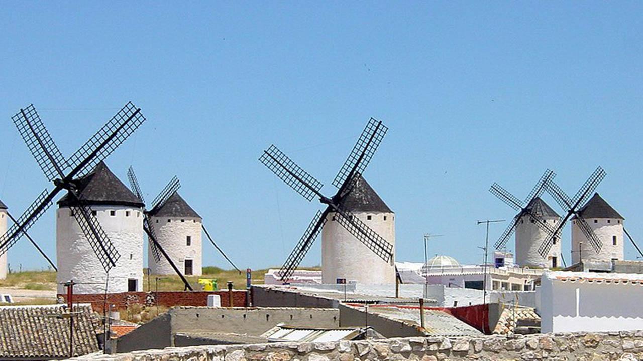 Castilla La Mancha molinos