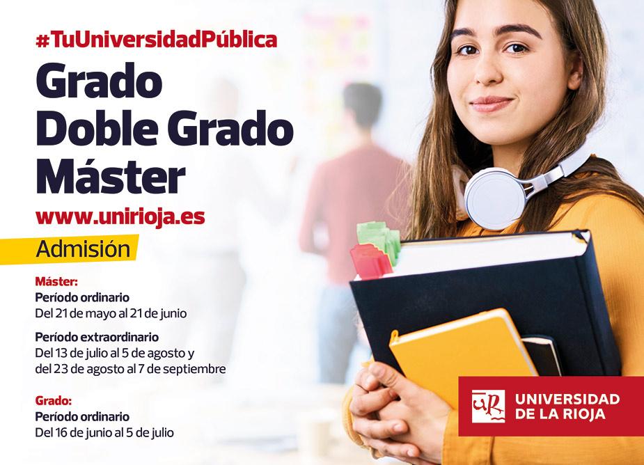 Universidad de La Rioja, tu universidad pública