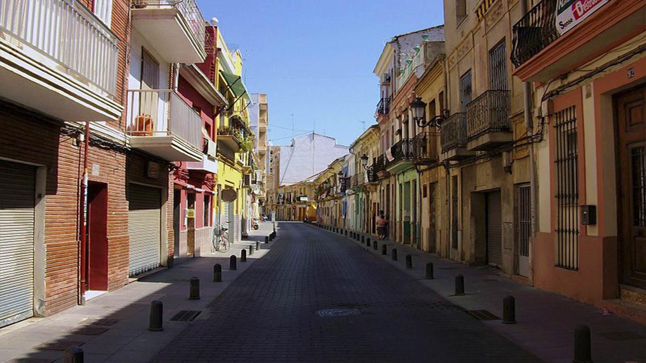 El Cabanyal la zona mas pintoresca de la ciudad de Valencia