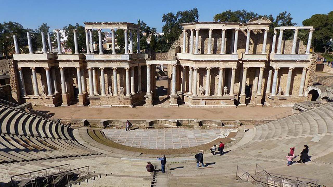 Extreamdura Teatro romano de Merida