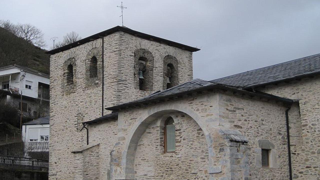 Iglesia de Santa Marina en Balboa