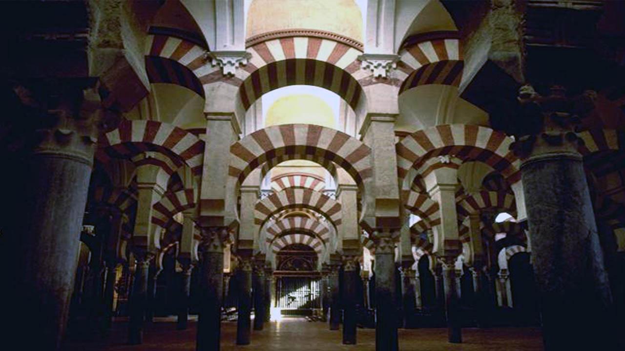 Interior de la Gran Mezquita de Cordoba