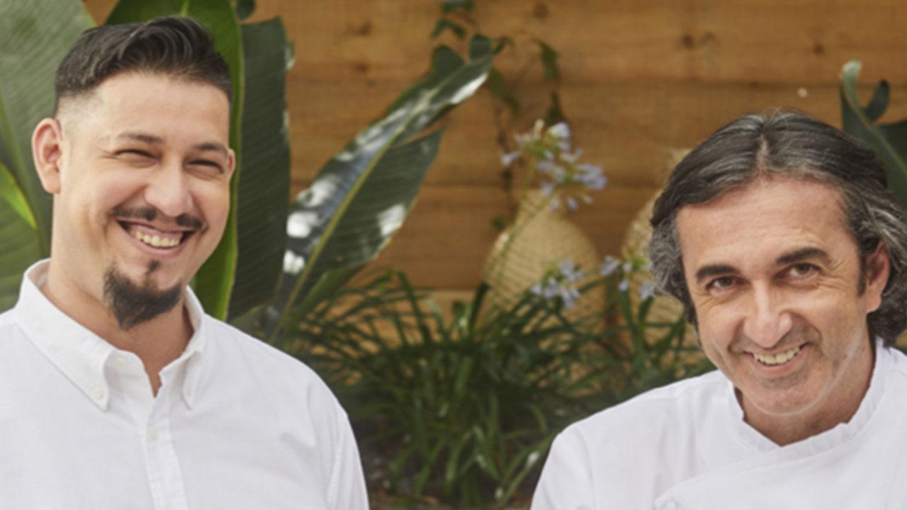 Jose Carlos Garcia y Alejando Sebastian