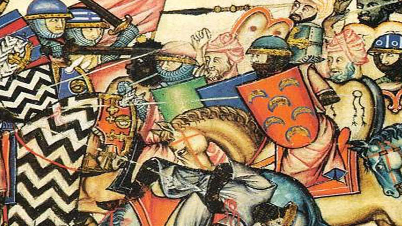 La Reconquista Libro de Cantigas de Alfonso X el Sabio