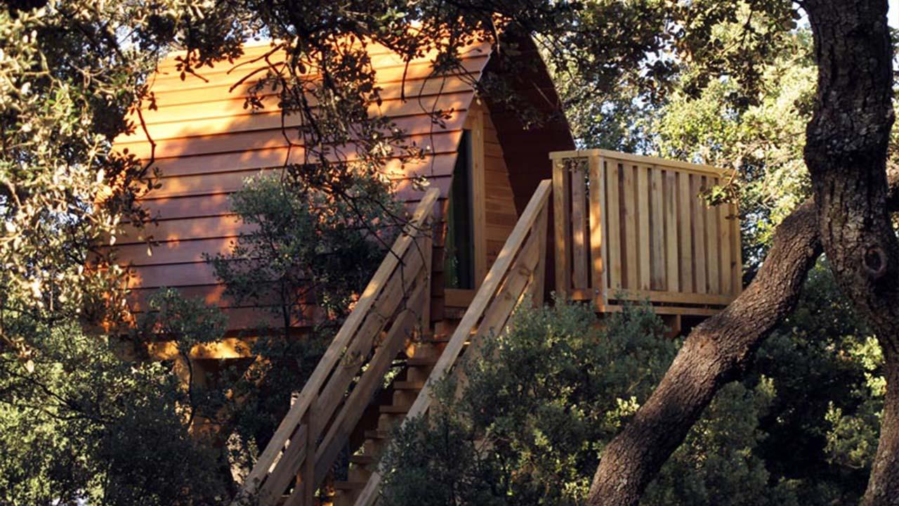 Monte Holiday cabañas en los árboles