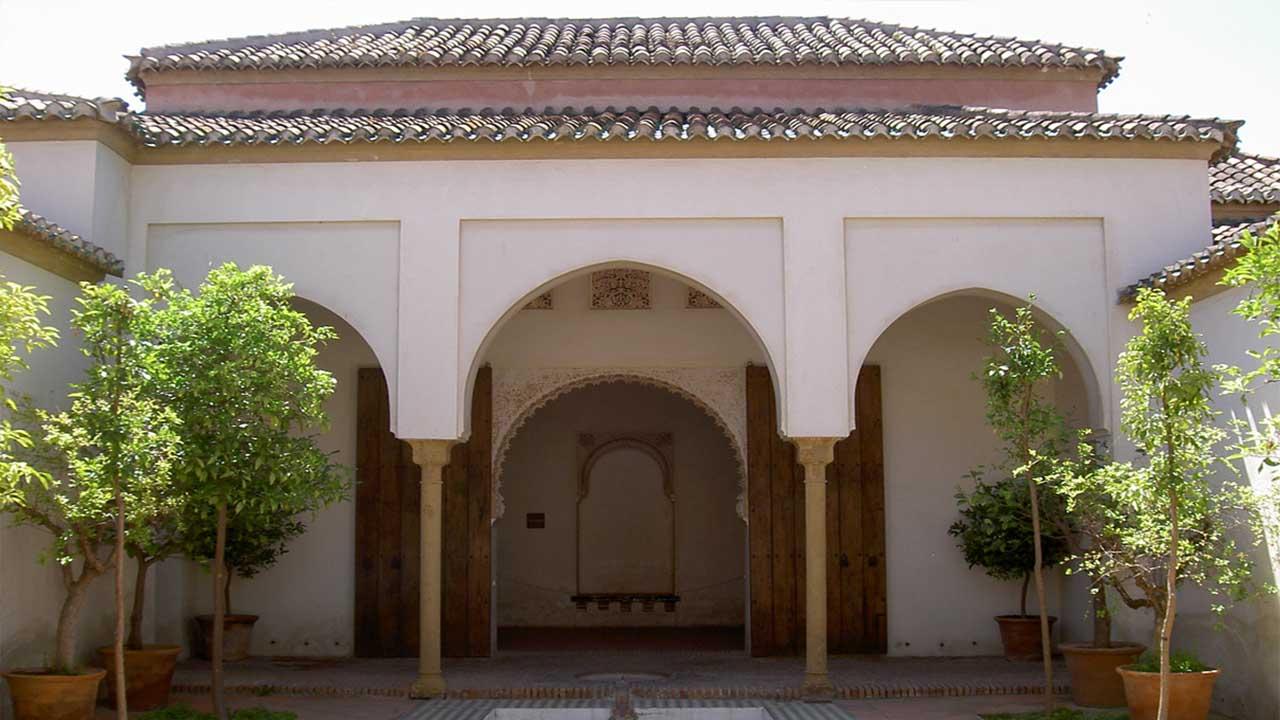 Patio de los Naranjos Alcazaba Malaga