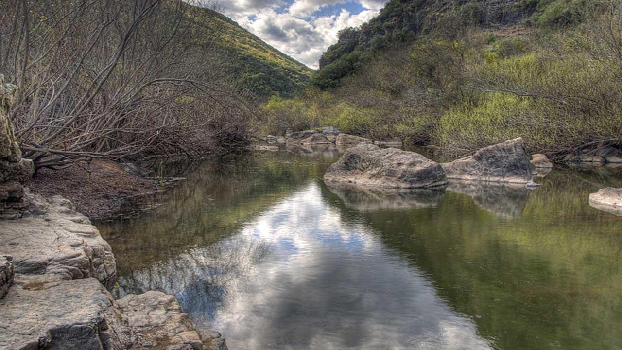 Rio Guadiato Sierra Morena