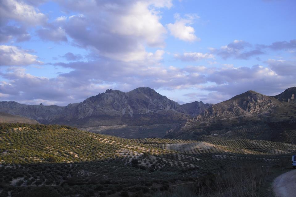 Sierras de Carcabuey. Gallinera. Parque Natural de la Subbetica Cordobesa