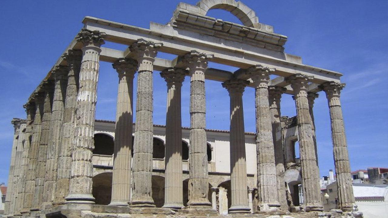 Templo de Diana. Merida
