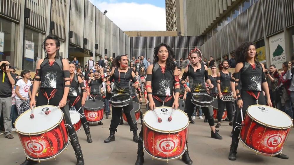 Xacobeo percute, festival Internacional de Batucadas en Cambados