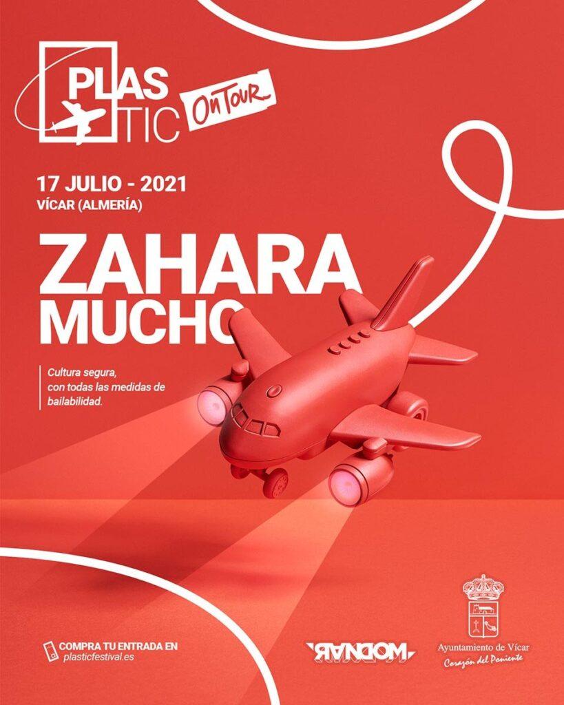 Zahara y Mucho en concierto plasticontour Festival 2021