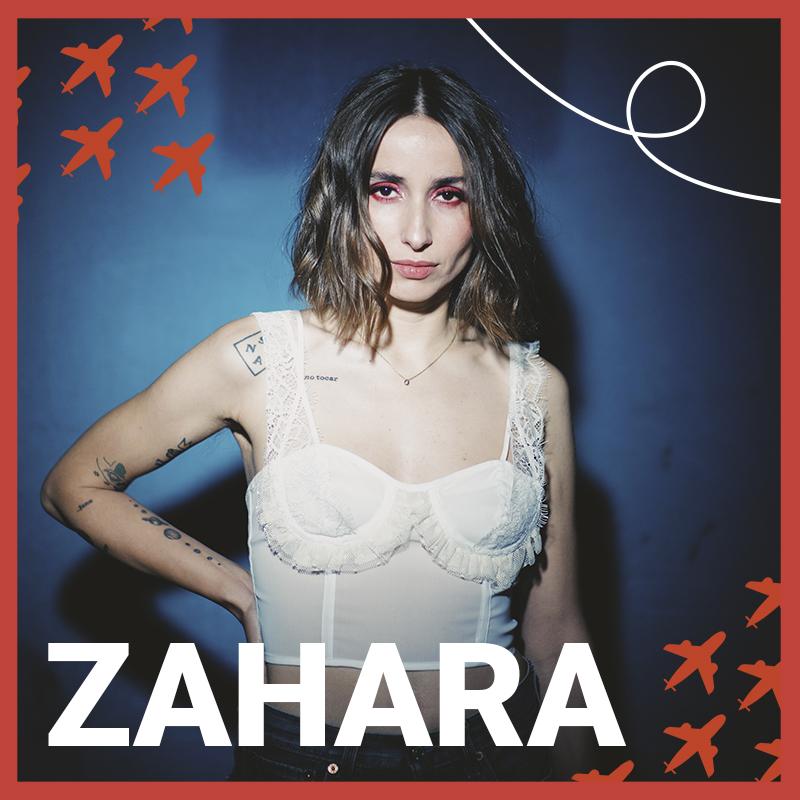 Zahara y Mucho en concierto plasticontour Festival 2021 con PutaGira