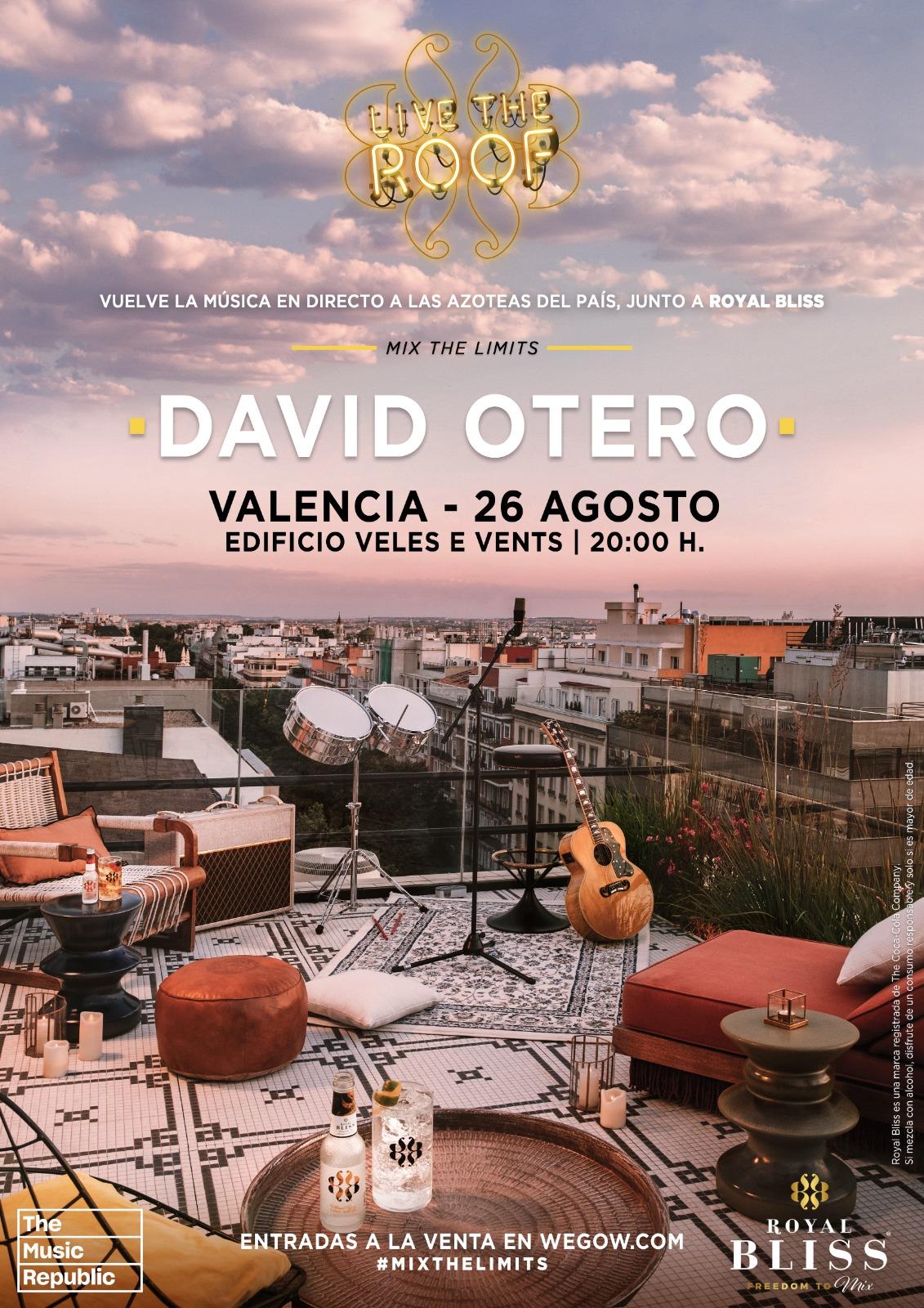david otero en live the roof valencia 1623915324849408