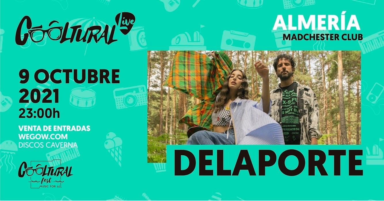Delaporte en Cooltural Fest live de Almería