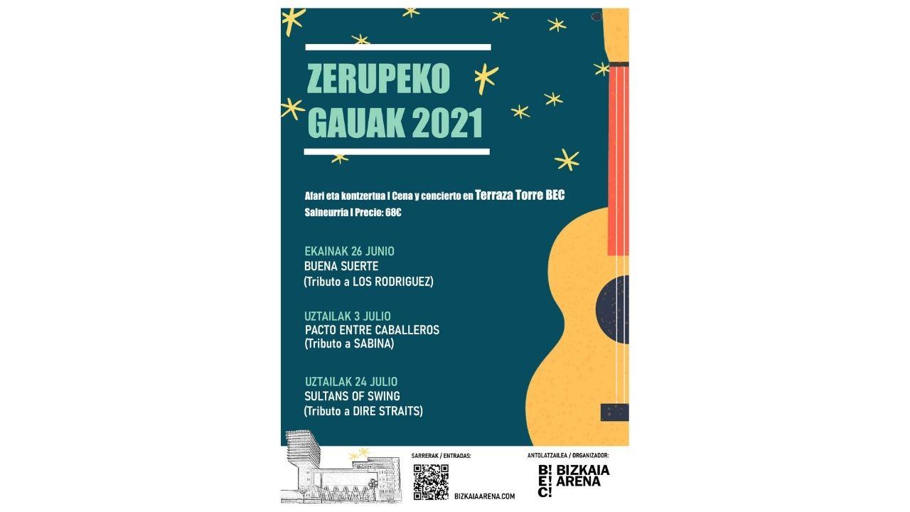 Zerupeko Gauak regresa a BEC con tributos a Los Rodríguez, Sabina y Dire Straits