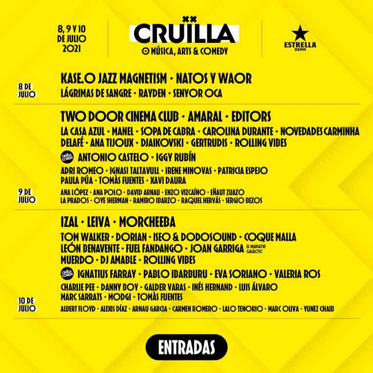 festival cruilla 2021