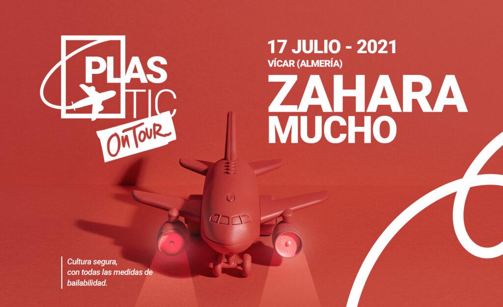 plastic on tour 2021 zahara y mucho