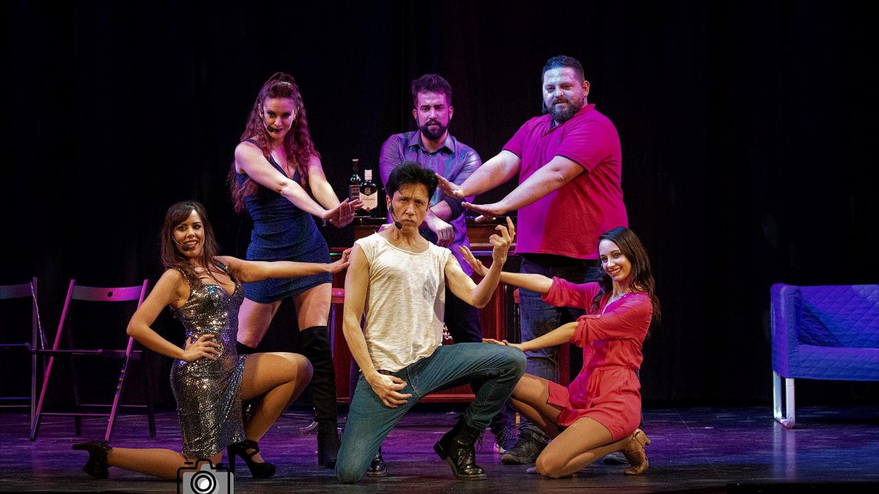 'El musical de los 80 a los 90' se representa en el Teatro Campos Elíseos el 19