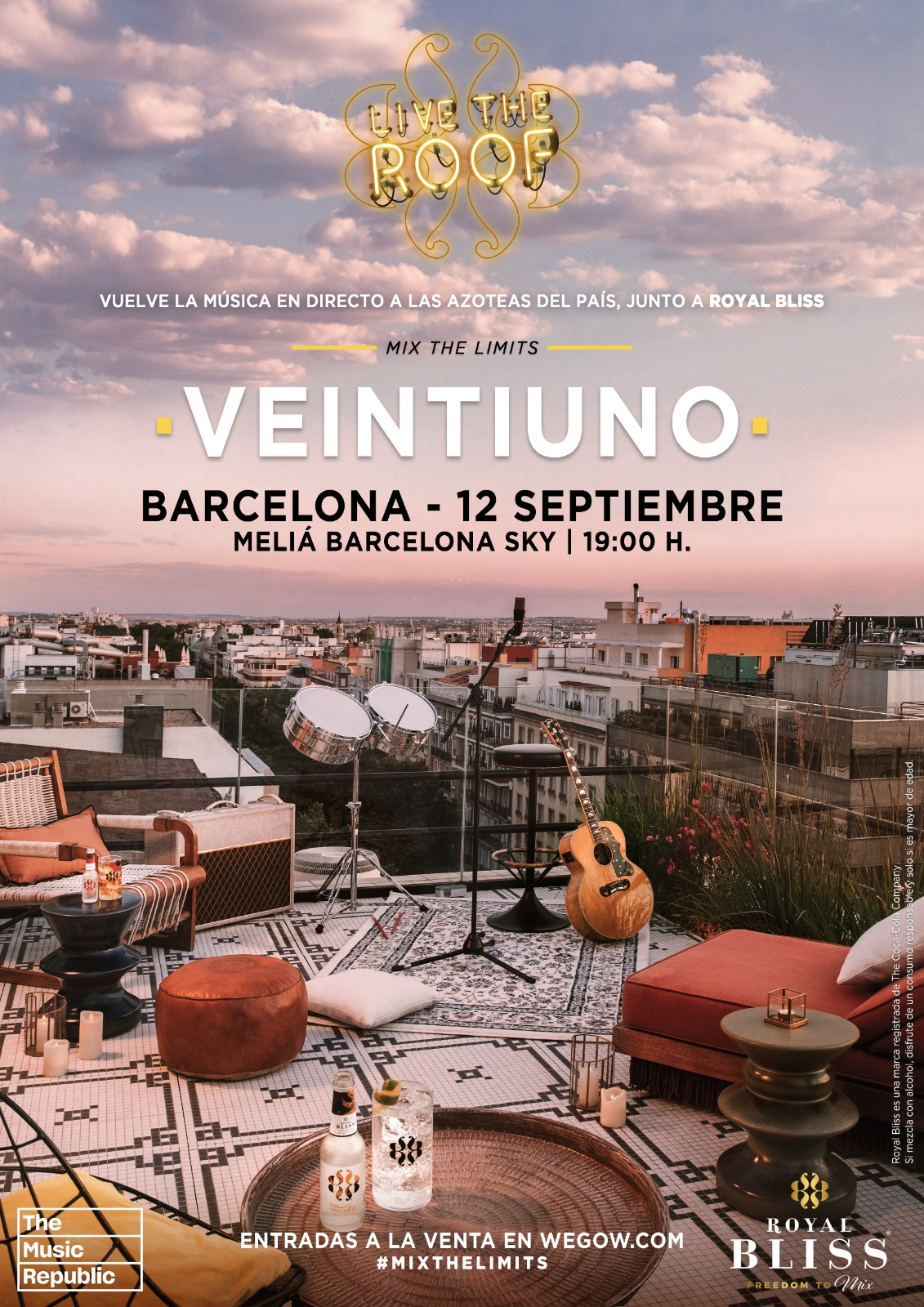 veintiuno en live the roof barcelona 16238364809423578