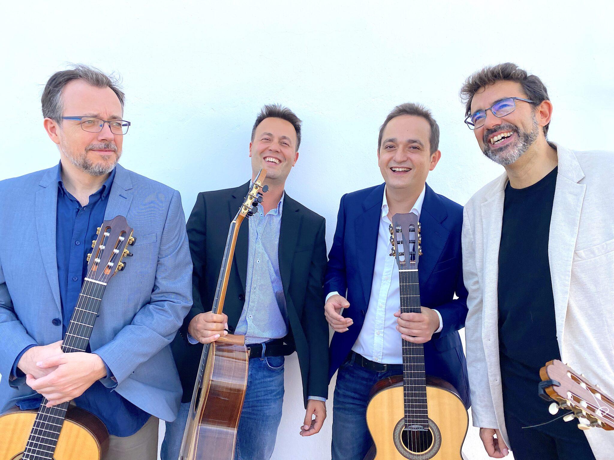Cuarteto Guitarras Andalucia scaled 1