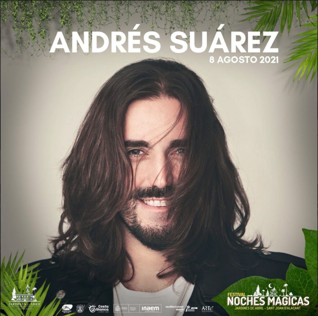 FESTIVAL NOCHES MAGICAS 2021 ANDRES SUAREZ