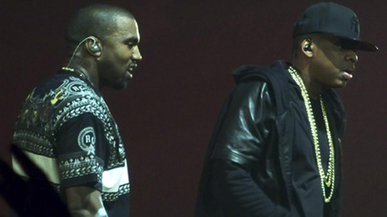 Kanye West y Jay Z en 2001