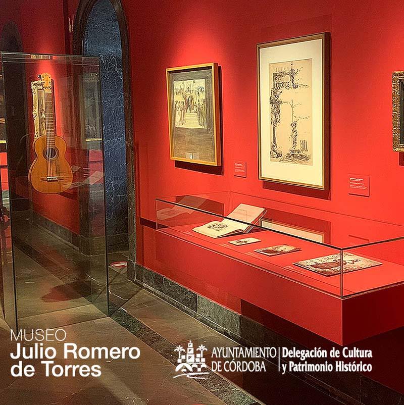 LA GUITARRA ALEGORIA SONORA Exposicion en el Museo Julio Romero de Torres Ayuntamiento de Cordoba